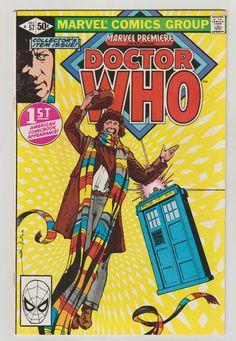 Marvel Premiere (featuring Doctor Who); Vol 1, 57, Bronze Age Comic Book. NM-. December 1980. Marvel Comics #doctorwho #davegibbons #comicsforsale