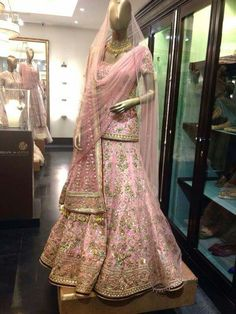 #taruntahiliani #bridallehenga Indian Wedding Outfits, Bridal Outfits, Indian Outfits, Bridal Dresses, Indian Clothes, Pakistani Bridal Wear, Pakistani Outfits, Bridal Lehenga, Red Lehenga