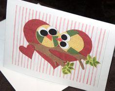 Owl Valentine's Day Free Card