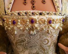 Princess Pearl Tudor Renaissance Bodice by RecycledRockstah