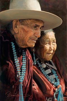 Brad Schmidt | Oil Painting Portfolio | Portraits of Navajo, Zuni, Hopi and Mexican People