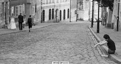 Daily frame #8 – and me? Warsaw Old Town, Warsaw Poland Black&white