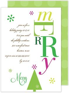 25 best charity holiday party images on pinterest christmas merry holiday invitation card charity holiday christmas party invitation m4hsunfo