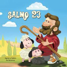 Salmo 23: El salmo original, junto a una versión moderna parafraseada y una ilustración de cada versículo. Una hermosa manera de que los niños se identifiquen fácilmente con sus famosos pasajes. Ahora, los niños podrán comprender mejor que nunca el Salmo 23.