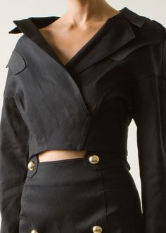 anthony-vaccarello-black-short-denim-jacket-5