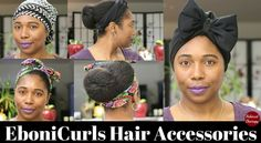 @EboniCurls specializes in satin and satin lined accessories. Bonnets, turbans, pillowcases, hair elastics, headbands + more! #relaxedhair #naturalhair #relaxedhair