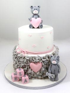 Hochzeit und so … – torteundmehr.at Baby Shower Favors Girl, Baby Shower Cakes, Desserts, Food, Pies, Wedding, Cakes Baby Showers, Tailgate Desserts, Deserts