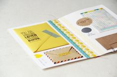 little envelopes within a card - so clever!!
