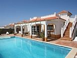 4 bedroom private holiday villa for rent in Caleta de Fuste, Fuerteventura C214 £600/wk