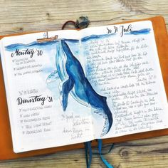 51 Amazing Ocean Bullet Journal layouts to delight YOU! ocean bullet journal layout ideas The post 51 Amazing Ocean Bullet Journal layouts to delight YOU! appeared first on Ikea ideen. Bullet Journal Period Tracker, Bullet Journal Daily Spread, Bullet Journal Spreads, Bullet Journal 101, Bullet Journal Inspiration, Journal Ideas, Bullet Journals, Citation Photo Insta, Journal Quotidien