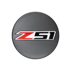 Corvette Stingray Center Cap, Z51 Logo, Metallic Gray - SINGLE: Make a dramatic modification to the appearance of your Corvette with these metallic gray colored center caps with the Z51 logo.