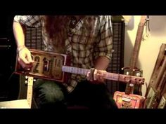 """Walkin' Blues"" Lesson for Cigar Box Guitar Guitar Tips, Guitar Lessons, Ukulele, Cigar Box Projects, Resonator Guitar, Guitar Youtube, Music Chords, Slide Guitar, Homemade Instruments"