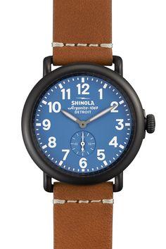 Shinola Unisex Runwell 41mm Watch
