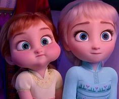 Cute Baby Elsa and Anna Posters and Memos - ibeautybook All Disney Princesses, Disney Princess Quotes, Disney Princess Pictures, Disney Princess Drawings, Disney Pictures, Disney Drawings, Disney Baby Princess, Elsa Frozen Pictures, Frozen Wallpaper