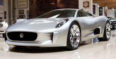 Luxury Cars  :   Illustration   Description   The Sizzling Jaguar CX-75 Prototype (Video)
