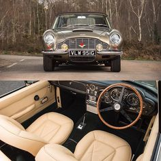 A 1968 Aston Martin DB6 Mark I Volante which is one of the rarest of post-war Aston Martins is also listed at the forthcoming @bonhams1793 auction #astonmartin #DB6 #heritage #cars by astonmartinlagonda
