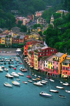 Portofino, Italy  Just watching Andrea Bocelli singing in Portofino and found this pic!  I want to go there....NOW