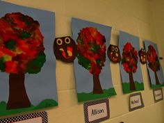 Fall Trees Art Projects
