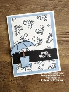 I've been receiving more cards, and I want to share them with you! Some are swap cards I received a … It's Your Birthday, Birthday Cards, Umbrella Cards, Welcome Card, Online Paper, Cards For Friends, Friend Cards, Under My Umbrella, Scrapbooking