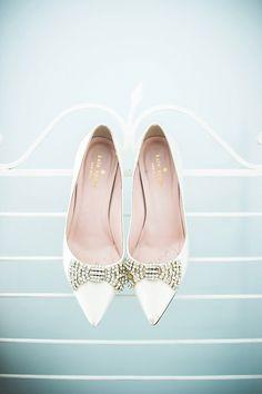 jeweled bow heels   Cynthia Rose