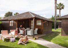 Bungalow Tahiti Suit, family holidays, cabaña madera, niños, kids
