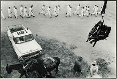 Inside the Texas Department of Corrections 1968| Guns are passed to the picket tower, Ferguson Unit - Danny Lyon