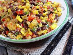 Southwestern Black Bean, Quinoa and Mango Medley via @NoblePig