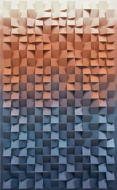 jan albers - colorful textured wall design - - more textured wall designs Textures Patterns, Color Patterns, Print Patterns, 3d Pattern, Wall Candy, 3d Texture, Texture Design, 3d Prints, Elements Of Art