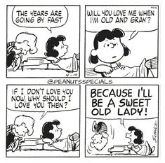 First Appearance: April 10th, 1979 #peanutsspecials #ps #pnts #schulz #schroeder #lucyvanpelt #years #fast #love #old #gray #sweet #lady www.peanutsspecials.com