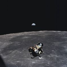 Michael Collins is the only human, living or dead, not contained in the frame of this picture <3