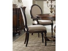 Shop for Eastridge Oval Back Side Chair, Fairfax and other Dining Room Chairs at Colorado Style Home Furnishings in Denver, CO. Crafted using hardwood solids and cherry veneers the majestic beauty of the Eastridge collection is sure to please. Dining Room Sets, Dining Room Chairs, Dining Room Furniture, Side Chairs, Furniture Decor, Hickory Furniture, Hooker Furniture, Fine Furniture, Alberta Canada