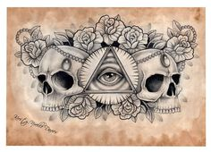 steampunk tattoo sketch - Google zoeken