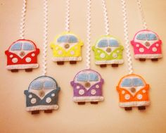 VW Kombi baby mobile nearly done!