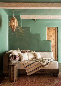 Una decoración de inspiración árabe: Detalles que enamoran.