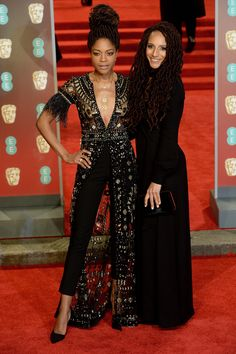 From Angelina Jolie to Lupita Nyong'o, the Baftas red carpet 2018 – in pictures