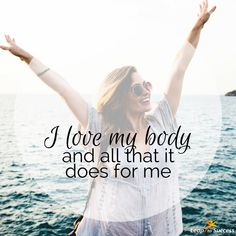We spend so much time criticizing ourselves, particularly about the way we look. Stop for a moment and acknowledge five things you love about yourself!