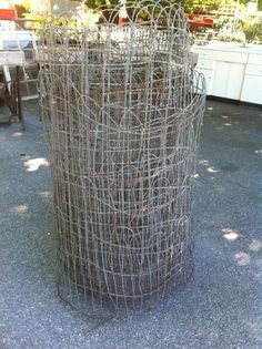 Vintage Woven Wire Round Top Garden Fence Gate Trellis Sold by The Foot | eBay