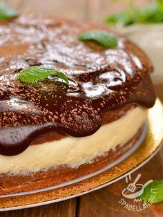 Cheesecake with orange and chocolate - La Torta di ricotta all'arancia e cioccolato è una vera bomba di bontà: non potrà che riscuotere un grande successo. Preparatevi: chiederanno tutti il bis!