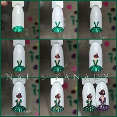 Having short nails is extremely practical. The problem is so many nail art and manicure designs that you'll find online 3d Nails, Love Nails, Pretty Nails, Nail Art Designs Videos, Nail Designs, Nail Art Techniques, Nail Art For Beginners, Nail Art Galleries, Nail Tutorials
