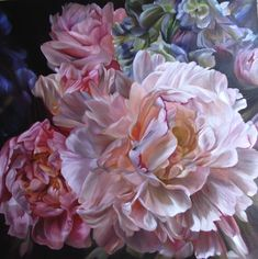 2009 Light and Shade_Catherine Asquith Gallery - marcella kaspar Art Floral, Watercolor Flowers, Watercolor Paintings, Flower Paintings, Botanical Art, Beautiful Flowers, Gorgeous Gorgeous, Love Art, Painting Inspiration