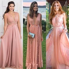 Vestido nude rosado para casamento diurno Bridesmaid Dresses, Prom Dresses, Formal Dresses, Wedding Dresses, One Step, Most Beautiful Dresses, Sequin Party Dress, Sweet Dress, Party Looks