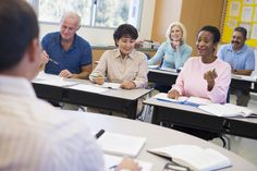 Thinking about getting back in the classroom? More and more adults are pursuing their passion for learning.