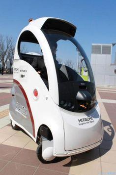 Futuro, Robôs Futuros, robótica, Robôs, Robótica Conceito, auto-Dirigir Carros, robo Carros, Hitachi, ROPITS, futurista
