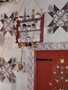 De tante van Tjorven: Het interieur van een Staphorster boerderij Old Farm, Folklore, My Dream Home, Netherlands, Traditional, Holiday Decor, Fabric, Homeland, Dutch