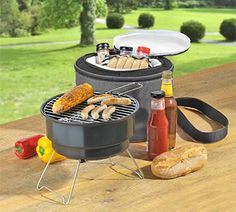 Win Today's Giveaway of the Day - Cooler Bag with Portable Mini BBQ Grill - Drawing 6/4/15 @ 3PM EST