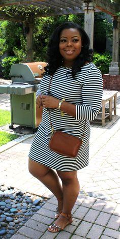 The Striped Dress | Naja Diamond | Minimalist Wardrobe