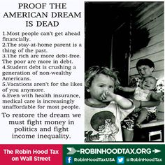 Undermining the American Dream: Abolishing Estate Tax = Rich Man Again & Middle Class Loses | Follow this link to read and share the full Hill article: http://thehill.com/blogs/congress-blog/politics/238974-undermining-the-american-dream
