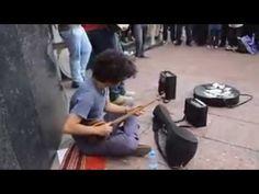 اجرا بسیار زیبا هنرمندان خیابانی ایران