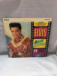 Elvis-Presley-Blue-Hawaii-SF-8145-Vinyl-LP-Record-EX-cond