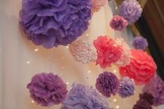 My ceremony packdrop :  wedding ceremony pink purple AmandaandCorey 0876